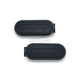 Satin Black Heavy Industry Footpegs w/o Adapters - 7034
