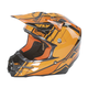 Black/Orange HMK F2 Carbon Cross Helmet