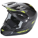 Hi-Vis/Black Kinetic Pro Cold Weather Helmet