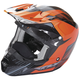 Orange/Black Kinetic Pro Cold Weather Helmet