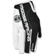 White/Black MX2 Gloves