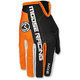 Orange/Black MX2 Gloves
