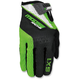 Green/Black SX1 Gloves