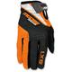 Orange/Black SX1 Gloves