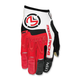 Red/White MX1 Gloves