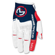 Red/White/Blue MX1 Gloves