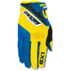 Youth Blue/Yellow SX1 Gloves