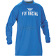 Blue Windproof Technical Jersey