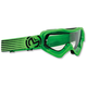 Green/Black Qualifier Slash Goggles - 2601-2120