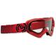 Red/Black Qualifier Slash Goggles - 2601-2122