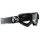 Youth Black/White Qualifier Slash Goggles - 2601-2125