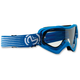 Youth Blue/White Qualifier Slash Goggles - 2601-2126