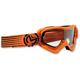 Youth Orange/Black Qualifier Slash Goggles - 2601-2128