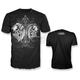 Black Angel Devil Skull T-Shirt