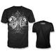Black Angel Devil Skull T-Shirt