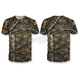 Camo Backwoods Skull T-Shirt