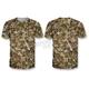 Camo Sawgrass Skull T-Shirt