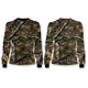 Camo Backwoods Skull Long Sleeve Shirt