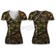 Women's Camo Backwoods Skull T-Shirt