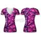 Womens Pink Camo Skull T-Shirt