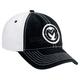 Black/White Classic Snapback Hat - 2501-2605