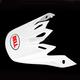 White Visor for Moto-9 Helmet - 8031073