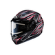 Black/Gray/Red CS-R3 Spike MC-1 Snow Helmet w/Framed Electric Shield