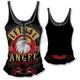 Womens Fast N Free Eagle Tank Top