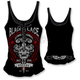 Womens Black Lace Riders Tank Top