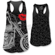 Womens Motorcycle Lips Tank Top