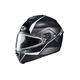 Semi-Flat Black/Gray/Silver IS-MAX 2 Mine MC-5SF Snow Helmet w/Frameless Dual Lens Shield