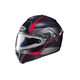 Semi-Flat Black/Gray/Red IS-MAX 2 Mine MC-1SF Snow Helmet w/Frameless Electric Shield