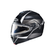 Semi-Flat Black/Gray/Silver IS-MAX 2 Mine MC-5SF Snow Helmet w/Frameless Electric Shield