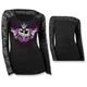Womens Divine Danger Long Sleeve Shirt