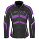 Women's Black/Purple Survivor Jacket