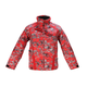 Youth Red Camo Storm Jacket