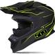 Matte Black/Lime Altitude Carbon Fiber Helmet