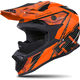 Matte Black/Orange Altitude Carbon Fiber Helmet