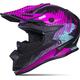 Matte Black/Pink/Blue Altitude Helmet