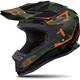 Matte Black/Green/Orange Camo Altitude Helmet