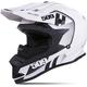 Matte White Storm Chaser Altitude Helmet
