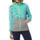 Women's Heather Gray Deduction Zip Hoody