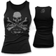 Womens Skull N Crossbones Tank Top