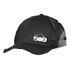 Black Mesh Trucker Hat - 509-HAT-MET