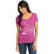 Women's Pink Ride Script T-Shirt