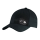 Black Chrome Emblem Flex-Fit Hat