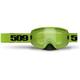 Lime Kingpin Goggles w/Green Mirror/Yellow Tint Lens - 509-KINGOG-17-LI
