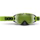 Lime Revolver Goggles w/Green Mirror/Yellow Tint Lens - 509-REVGOG-17-LI