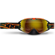 Orange Camo Revolver Goggles w/Fire Mirror/Rose Tint Lens - 509-REVGOG-17-OC