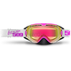 Pink Revolver Goggles w/Fire Mirror/Clear Tint Lens - 509-REVGOG-17-PI